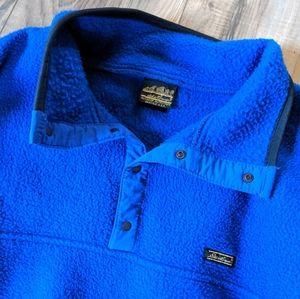 ⭐Vintage Eddie Bauer Polar Fleece Pullover Sweater
